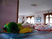 Dettaglio sala da pranzo