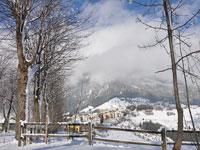 Paesaggio invernale a Foza