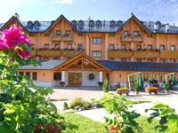 L'esterno dell'Hotel Gaarten