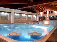 La piscina della SPA