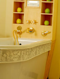 La vasca termale