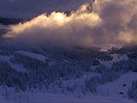 Sciovia Verena con la neve