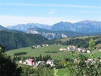 Vista dall'Hotel Al Bosco - Roana