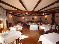Panoramica sala da pranzo