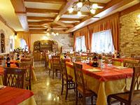 Sala da pranzo dell'Albergo Miravalle