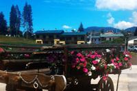 Un paesaggio incantato alla Locanda Stella Alpina