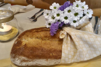 Il profumo del buon pane appena sfornato sulla vostra tavola