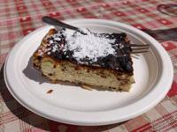 La torta di ricotta e cioccolato della Malga Larici di Sotto