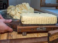 Panetto di burro di Malga Larici di Sotto