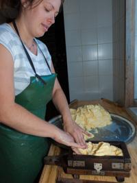 Produzione artigianale del burro
