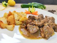 bianchetto di maiale con patate