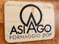 Insegna Formaggio Asiago Dop