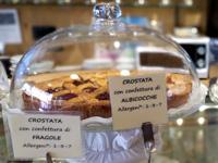 Crostata con confettura di fragole o albicocche