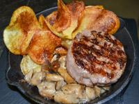 osteria la taverna carne patate funghi