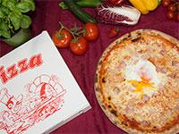pizza e scatola