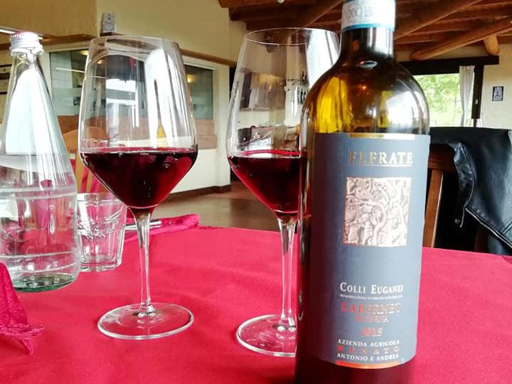 calici di vino alla baita maddarello