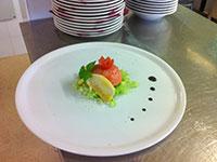 pesce in insalata