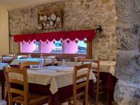 Sala da pranzo del Ristorante Rifugio Campolongo