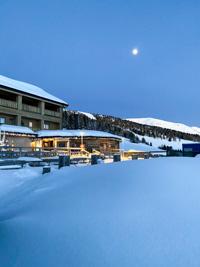 Rifugio Val Formica con la neve