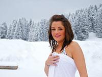 trattamenti di bellezza sulla neve rifugio campolongo