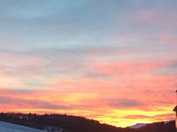 tramonto biancoia