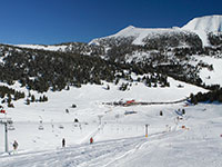 ski lift e piste val formica