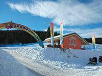 Campomulo snowfunpark parco giochi sulla neve alt