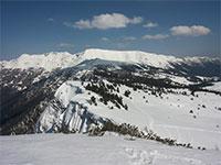 montagne altopiano asiago da larici val formica